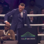 Watch: Mayweather, McGregor in London