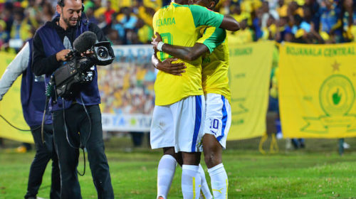Teko Modise and Hlompho Kekana