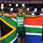 Wayde van Niekerk added World Championships 400-metre gold to his trophy collection
