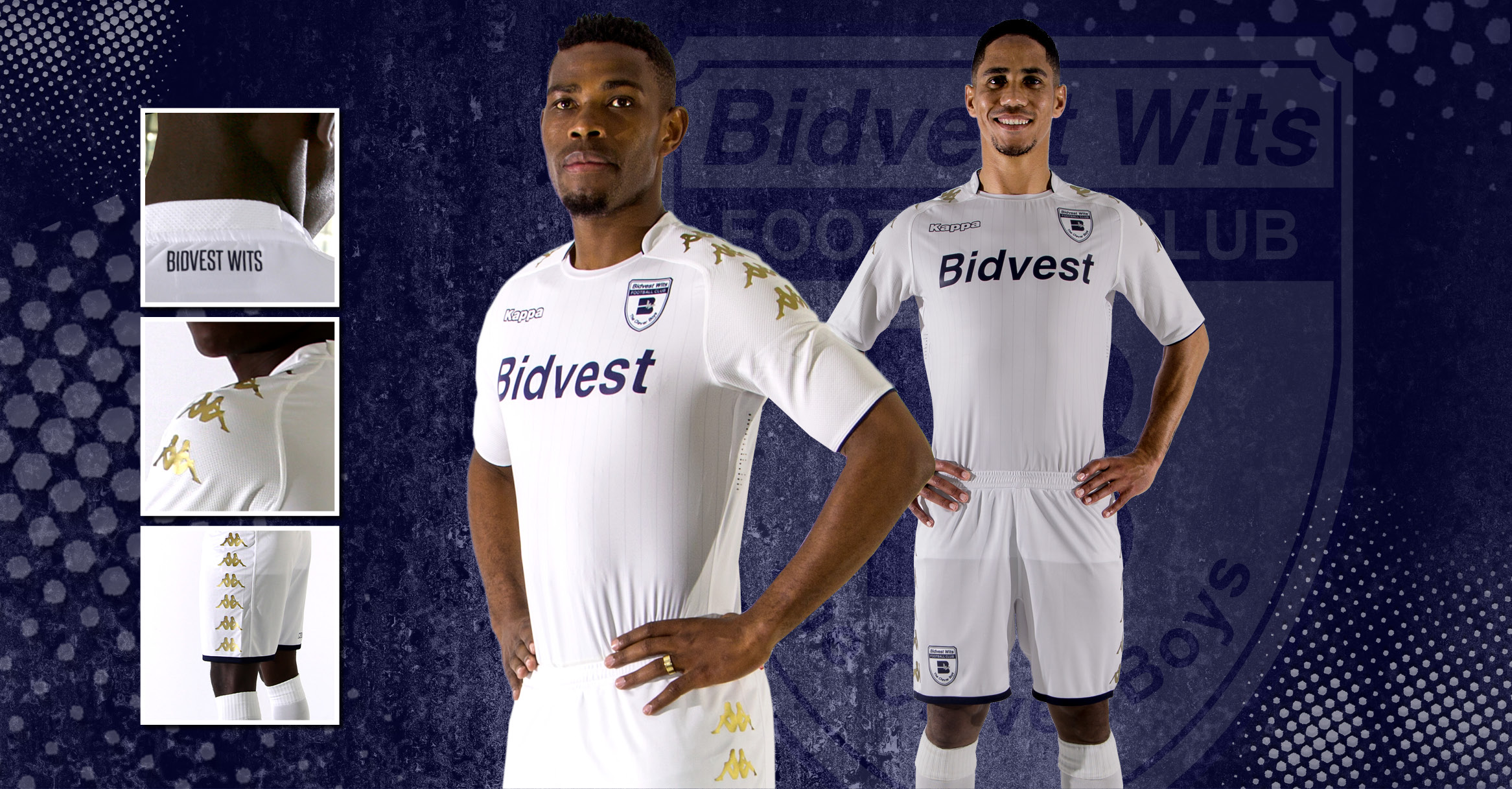 Bidvest Wits 2017-18 away kit