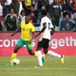 10-man Bafana kept at bay by Zambia
