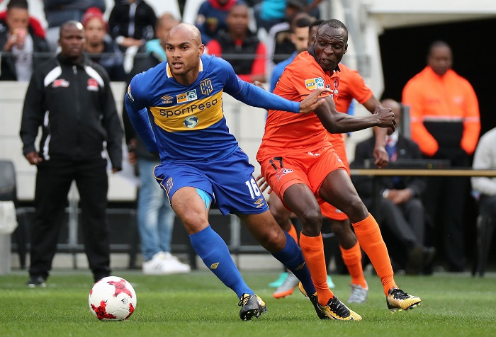 CT City defender Robyn Johannes