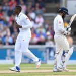 England post 362, Elgar out early