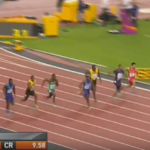 Watch: Gatlin wins 100m final, Bolt third