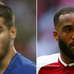 Alvaro Morata and Alexandre Lacazette