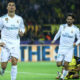 Cristiano Ronaldo celebrates scoring his sides second goal