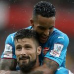 Giroud stars in Arsenal win