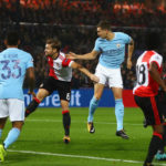John Stones scoring his second against Feyenoord