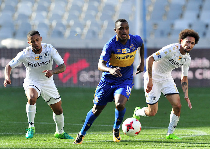 Cape Town City winger Ayanda Patosi