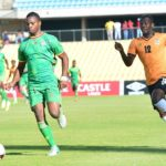 Pirates striker Justin Shonga