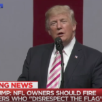Watch: Trump blasts NFL anthem protesters