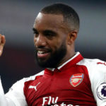 Arsenal forward Alexandre Lacazette