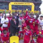 Watch: SuperSport lift the MTN8 trophy