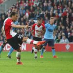 Manolo Gabbiadini nets his penalty against Newcastle United