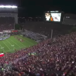 Watch: Virginia Tech's epic entrance