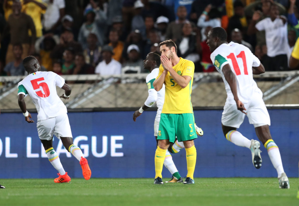 Dean Furman reacts in disappointment