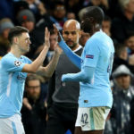 Phil Foden and Yaya Toure