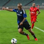 Qarabag striker Dino Ndlovu