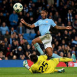 Sterling strikes late as City claim top spot