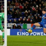 Harry Maguire rescues a point for Leicester with a 94th-minute equaliser