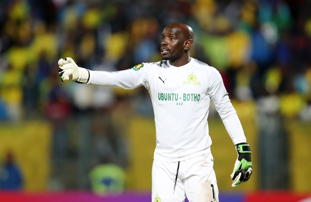 Mamelodi Sundowns goalkeeper Kennedy Mweene