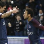 PSG duo Neymar Jr and Edinson Cavani