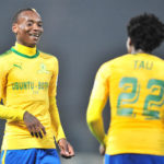Percy Tau and Khama Billiat