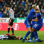 Perez own goal lifts Leicester to eighth