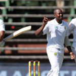 Andile Phehlukwayo took two wickets on day one