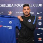 Brazilian full back Emerson Palmieri