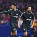 Chelsea duo Fabregas and Morata