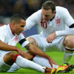 Rooney and Walcott