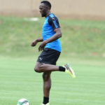 Usain Bolt training at Mamelodi Sundowns