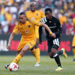 Ryan Moon challenged by Thami Sangweni