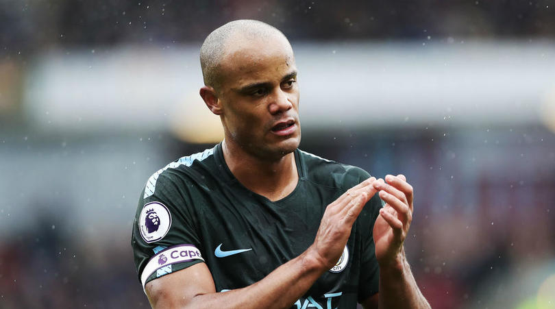 Manchester City defender Vincent Kompany