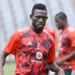 Orlando Pirates striker Augustine Mulenga