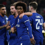 Willian shines as Chelsea reach last eight
