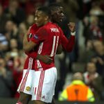 Manchester United teammates Paul Pogba and Anthony Martial