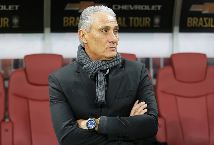 Brazil's head coach Tite