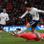 Son Heung-min rounds Asmir Begovic and slots in his second goal