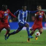 Lebohang Maboe is challenged by Aubrey Modiba and Dean Furman