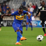 Ayanda Patosi scoring against Orlando Pirates