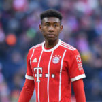 Bayern Munich fullback David Alaba