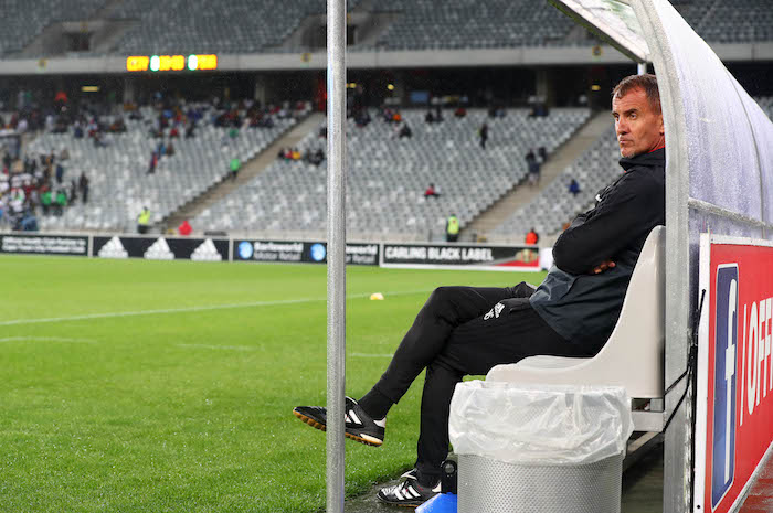 Milutin 'Micho' Sredojevic, coach of Orlando Pirates.