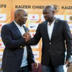 Pitso Mosimane coach of Mamelodi Sundowns and Steve Komphela former coach of Kaizer Chiefs