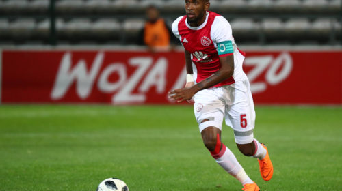 Mosa Lebusa of Ajax Cape Town