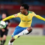 Percy Tau of Mamelodi Sundowns