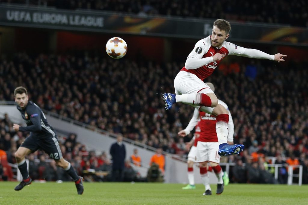 Arsenal cruise past Moscow