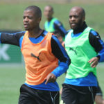 Sundowns duo Lebese and Manyisa