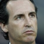 Outgoing Paris Saint Germain head coach Unai Emery.